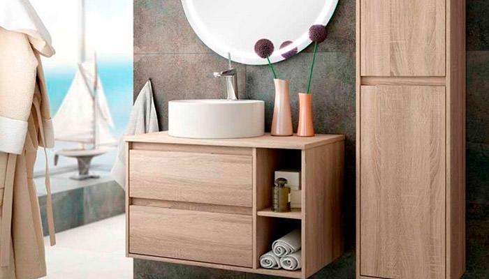 Muebles de baño suspendidos o colgados
